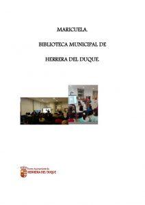 thumbnail of MEMORIA MARICUELA