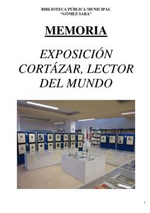 thumbnail of MEMORIA EXPO CORTAZAR